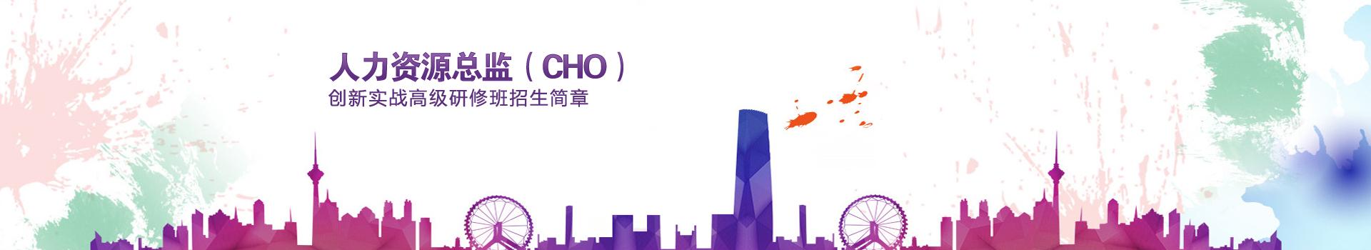 清华大学人力资源总监(CHO)创新实战高级研修班招生简章